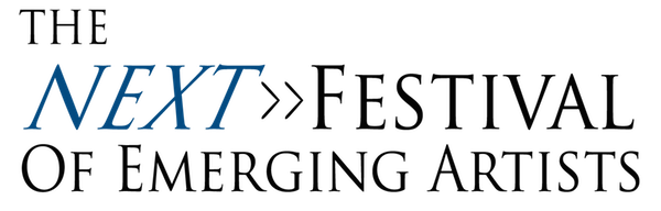 The Next Festival of Emerging Artists Retina Logo