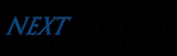 The Next Festival of Emerging Artists Retina Logo